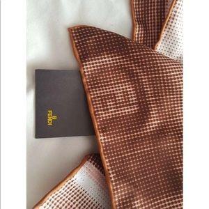 Fendi neck scarf 18.5 X 18.5 NWT